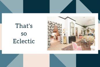 Eclectic Interior Design Decorating
