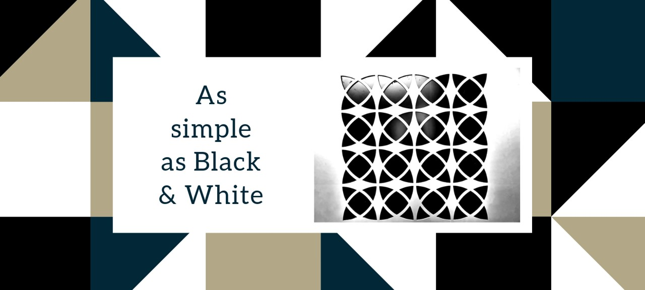 Interior Decorating with Black and White