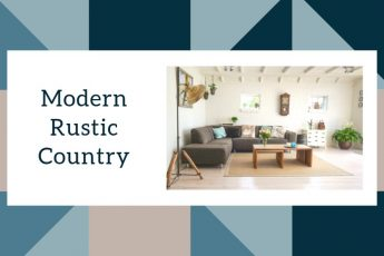 Modern Rustic Country Interior Design Style