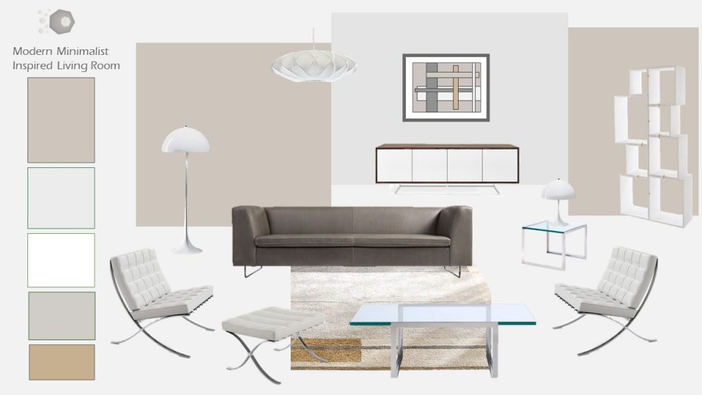Sleek Minimal Neutral Modern Living Room us