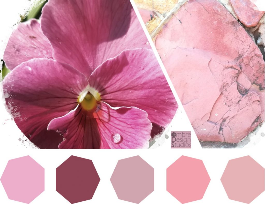 Pink Poetry Colour Palette
