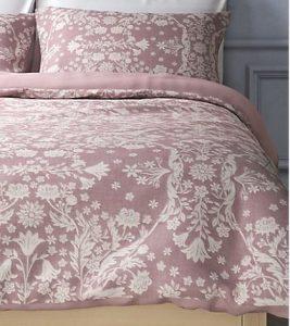 Dusty Antique Rose Bedding