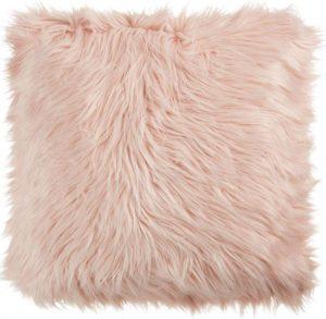 Fluffy Blush Pink Cushion Pillow