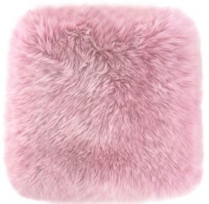 Fluffy Pink Cushion Pillow Cover