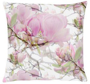 Lavender Pink Floral Cushion