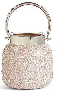Pink Mosaic Lantern