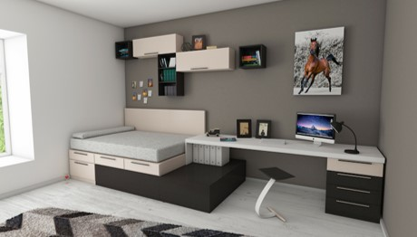 Multi-functional-furniture-and-savvy-space-planning