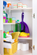 Neat-closet-efficient-interior-storage-space-cleaning-tools