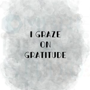 Gratitude Black Grey White Printable Digital Download to buy online