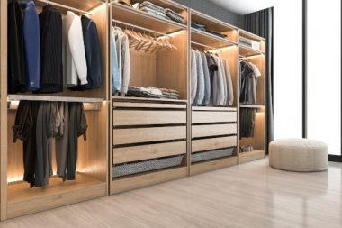 Open-wardrobe-mens-closet-neat-organized-storage