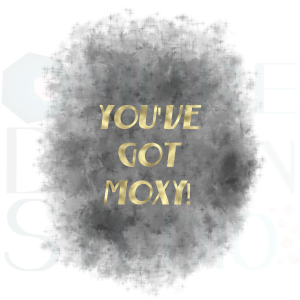 Product Moxy Digital Download Printable Grey Charcoal Gold White