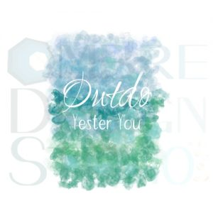 Product Printable Digital Download Outdo Blue Green Teal White
