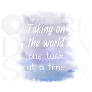 Product One Task Printable Digital Download White Grey Blue Purple Indigo