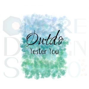 Product Printable Digital Download Outdo Blue Green Teal White Black