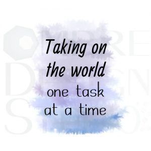 Product One Task Printable Digital Download White Black Grey Blue Purple Indigo