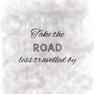 Product Printable Digital Download Road Black Grey White