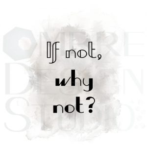 Product Digital Download Printable Why Not White Grey Black