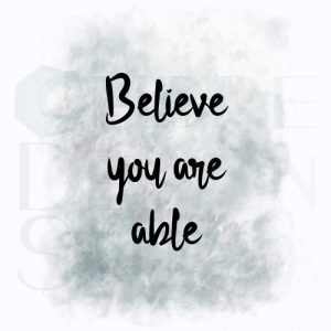 Product Digital Download Printable Believe Black White Grey