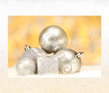 It is a good idea to add festive balls between the gifts for an added feeling of abundance and prosperity.