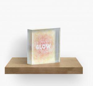 Glow - acrylic block