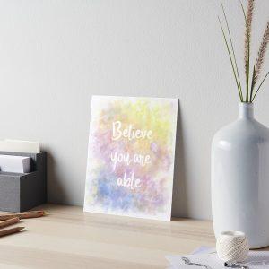 Motivational Art Board Print