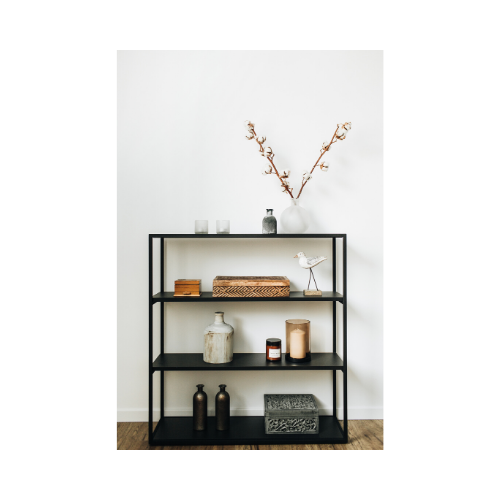 Always consider practical and aesthetic aspects with storage solutions