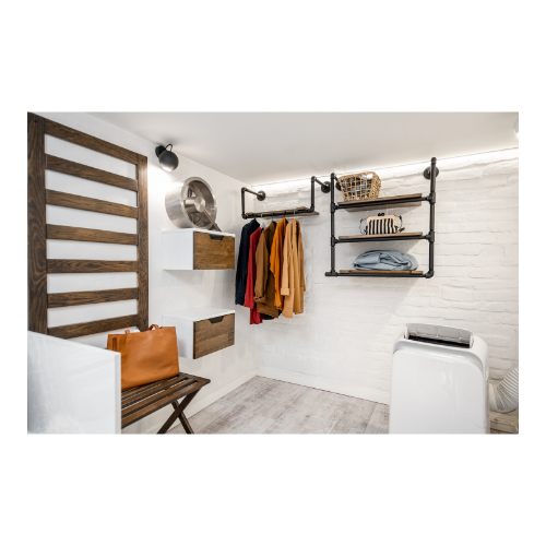 Who says the laundry room has to be ugly - let it work for you, practically and aesthetically
